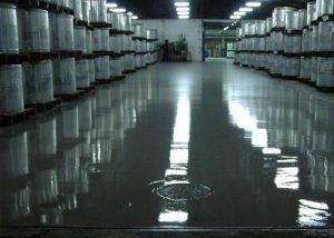 Suelos y Pavimentos Industriales continuos en bodegas en Castilla y León