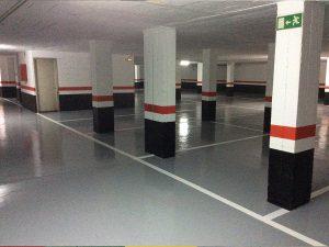 Señalización y pintura para garajes Salamanca