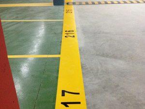 Señalización y pintura para garajes Valladolid