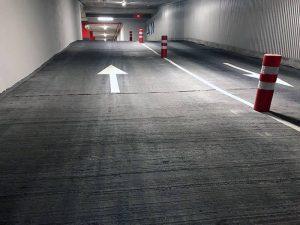 Rehabilitación de suelos en rampas de garajes en Burgos