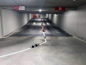 Rehabilitación de suelos en rampas de garajes en León