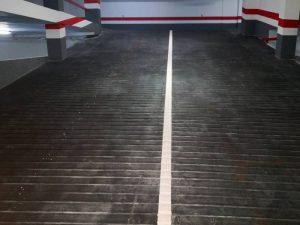 Rehabilitación de suelos en rampas de garajes en Soria